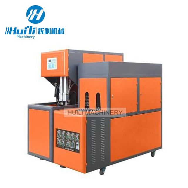 Customize Semi-auto 4 cavities pet bottle blowing molding machine Semi-Automatic Small Making Plastic blow Fast delivery