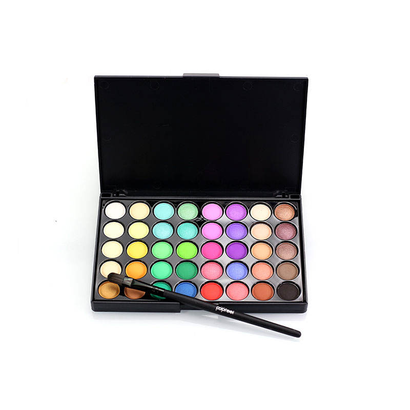 makeup eyeshadow palette 40 color professional longlasting cosmetic manufacturer free sample makeup