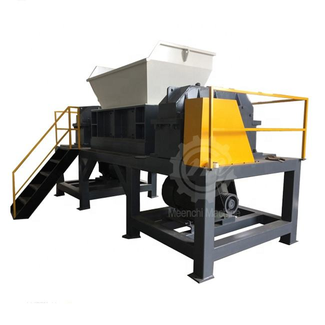Strong Double Shaft Shredder recycling machine Garden Shredder