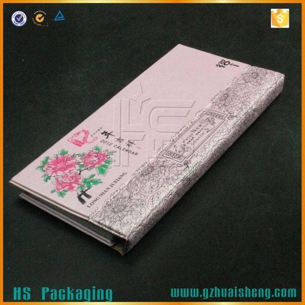 Impressos personalizados calendário pelo fabricante chinês