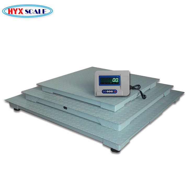 Best price 3 ton electronic digital heavy duty platform weighing floor scale for sale