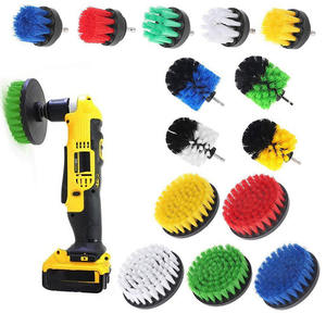 The newest Amazon Rotary electric bathroom floor carpet drill cleaning brush