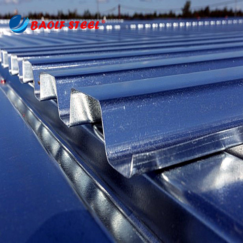 High Quality steel decking prices galvanized roof sheet