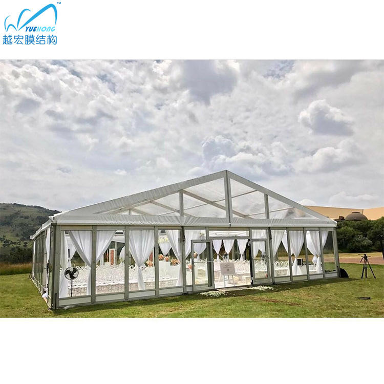 Aluminum [ Party Tent ] A Party Tent Clear Top Frame Wedding Party Tent For 150 200 People