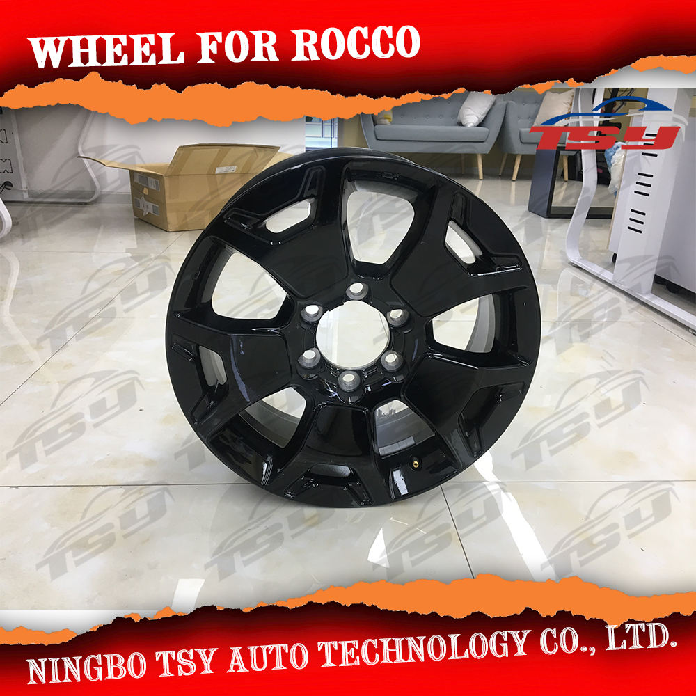 China Manufacture Auto Parts New Product Car Alloy Wheel Hub For Hilux Rocco 2018