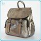 Fashion designer stylish custom python embossed lady genuine leather backpack wholesale