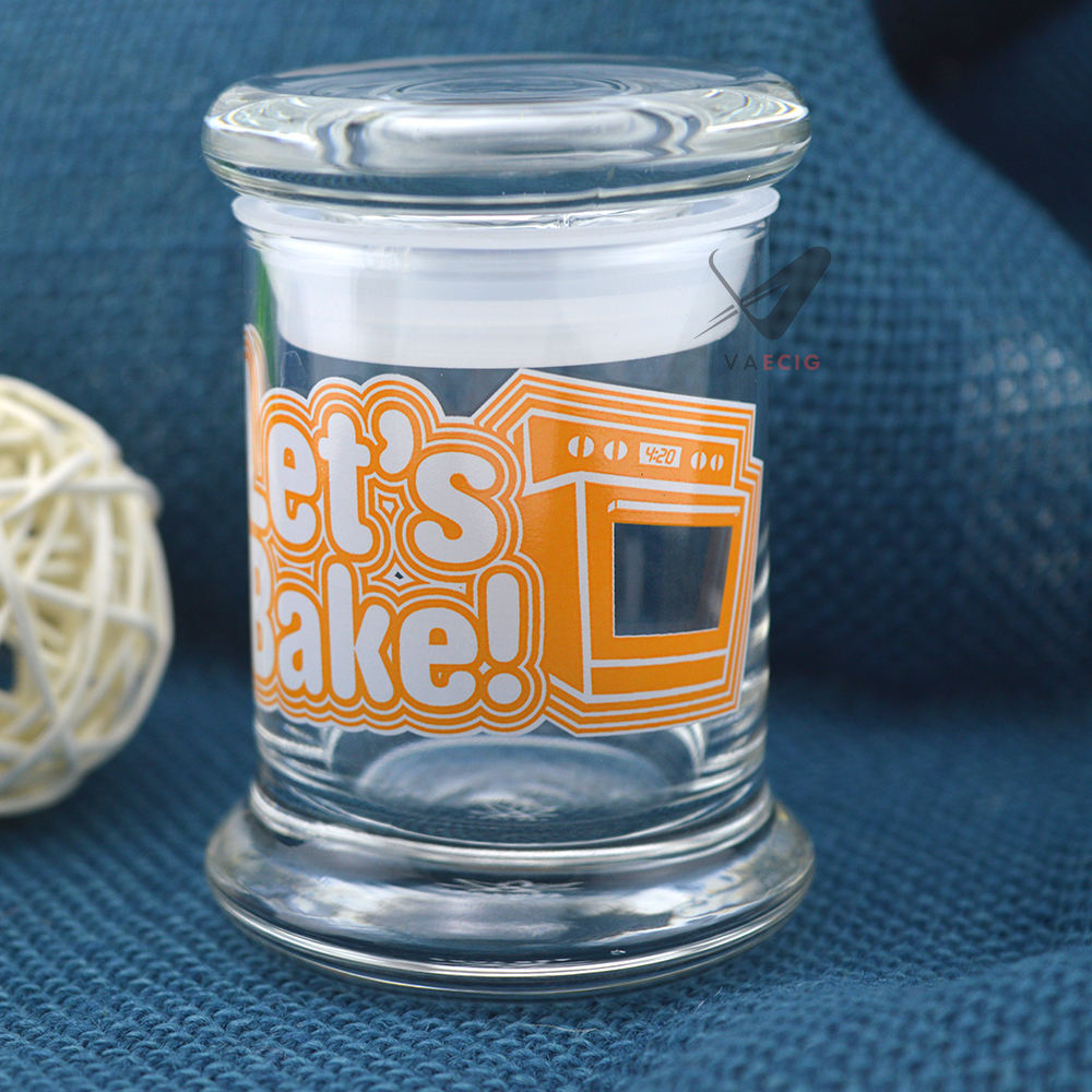 Airtight Glass Jars 50 ML for your weed