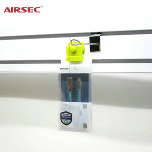 AIRSEC EAS stop lock Eas Stop Lock with Logo Security block blister White/Black/Red or Customized Color Lock