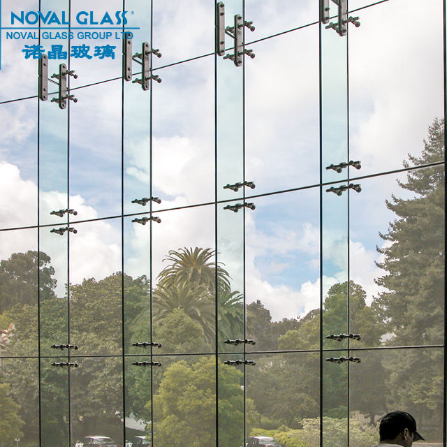 Exterior Building Glass Walls Tempered Laminated Glass Panels