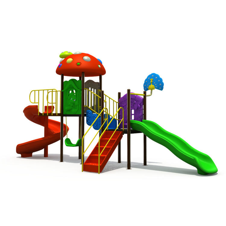 Low price kids playground plastic equipments amusement park commercial entertainment outdoor playground slide