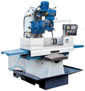 ISO40 Spindle CNC Bed Type Milling Machine