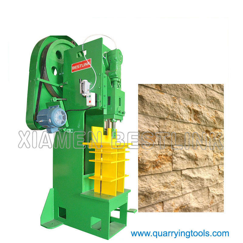 ES16 ES40 Mushroom stone slitting machine from Xiamen BESTLINK