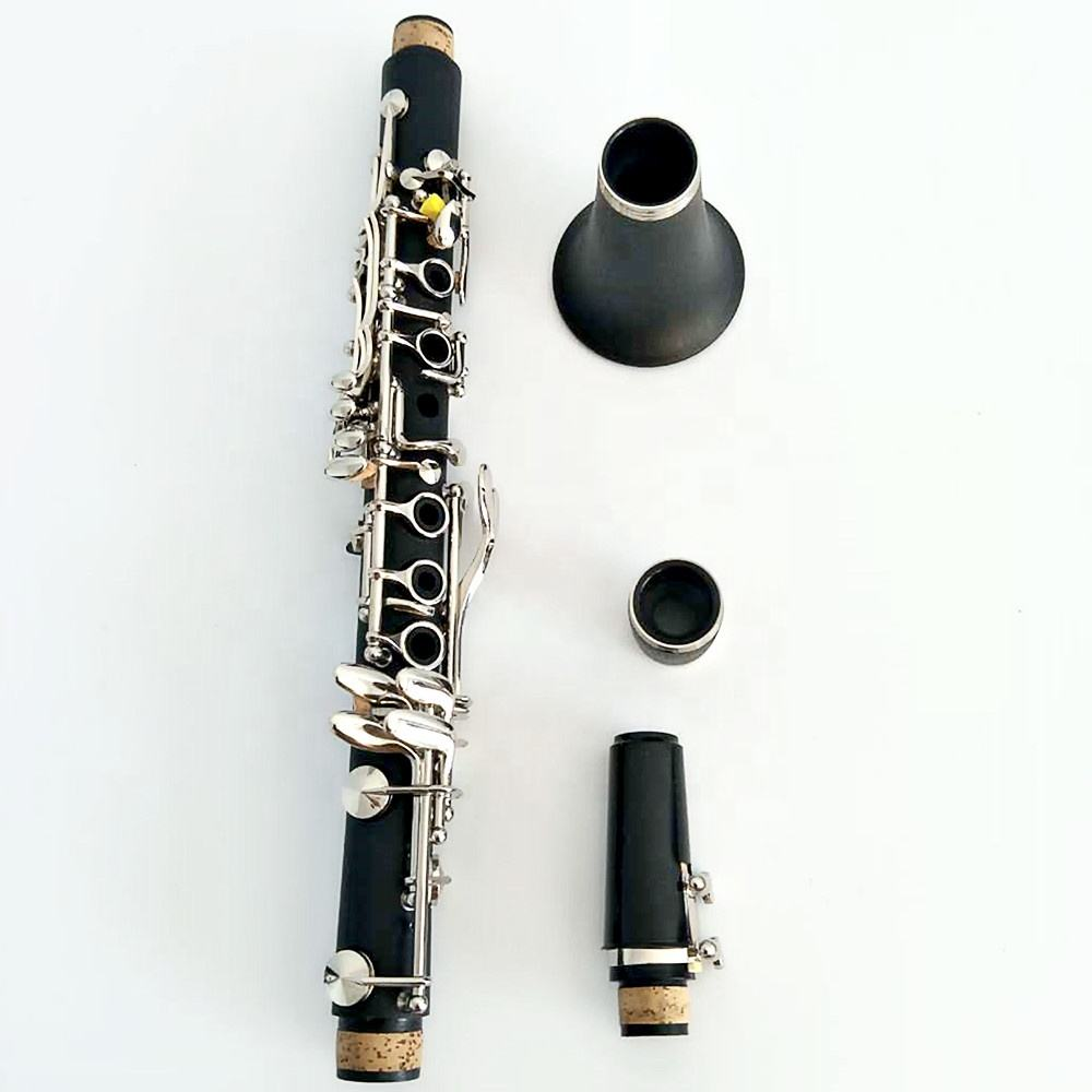 Manufacturers wholesale quality bakelite nickel plated clarinet Eb 17 key