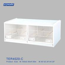 Factory price wholesale luxurious large bird cages with bird aviary accessories TER4020-C