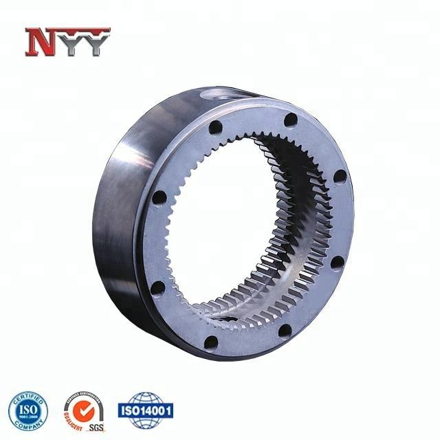 forged wind power steel big ring gear