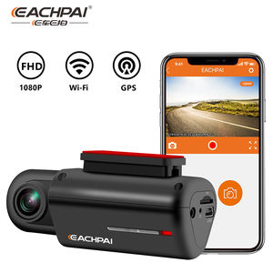 EACHPAI T1 WiFi Dash Cam FHD 1080P Built-in GPS,Super Capacitor,Night Vision,150 degree wide angle Car Camera DVR