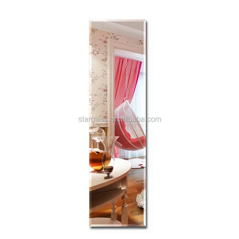 5mm 400*1500mm Rectangle Dressing Mirror With safety film