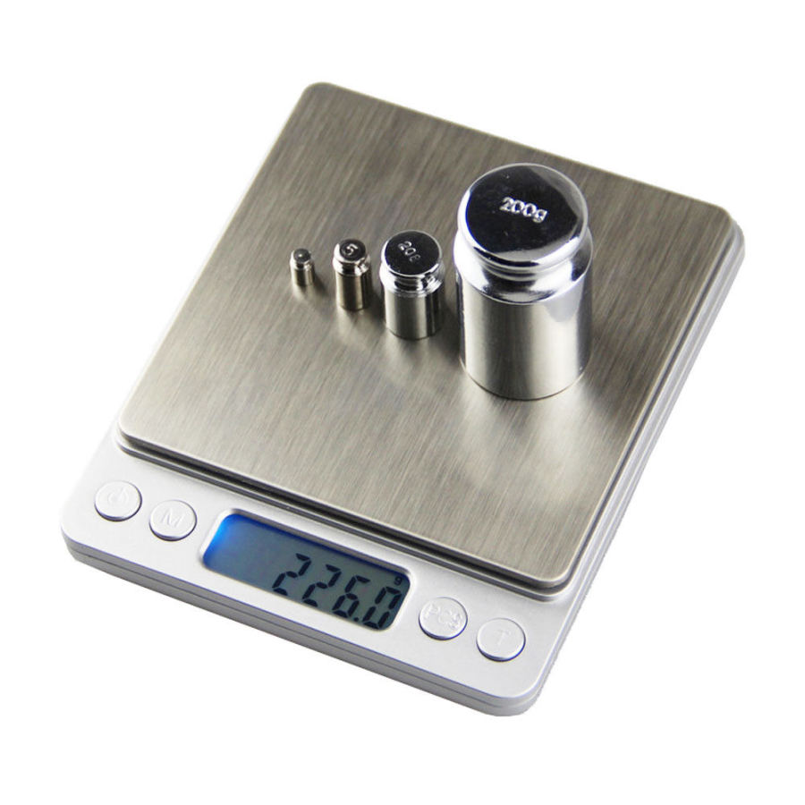 Kitchen Food Diet Electronic Scale 3Kg Stainless Steel Digital Electronic Scales With Retail Box High Quality