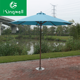 Strong 4pcs stone base garden swimming pool umbrella, beach umbrella