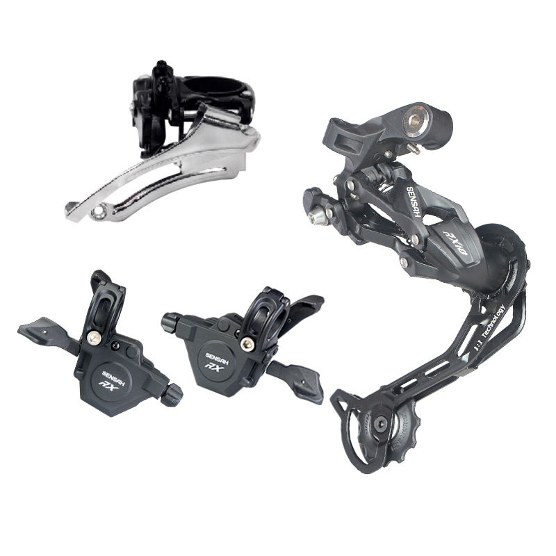 senah MTB rear derailleur 2 x 10 3 x 10 speed Mountain bike derailleur group shifter lever