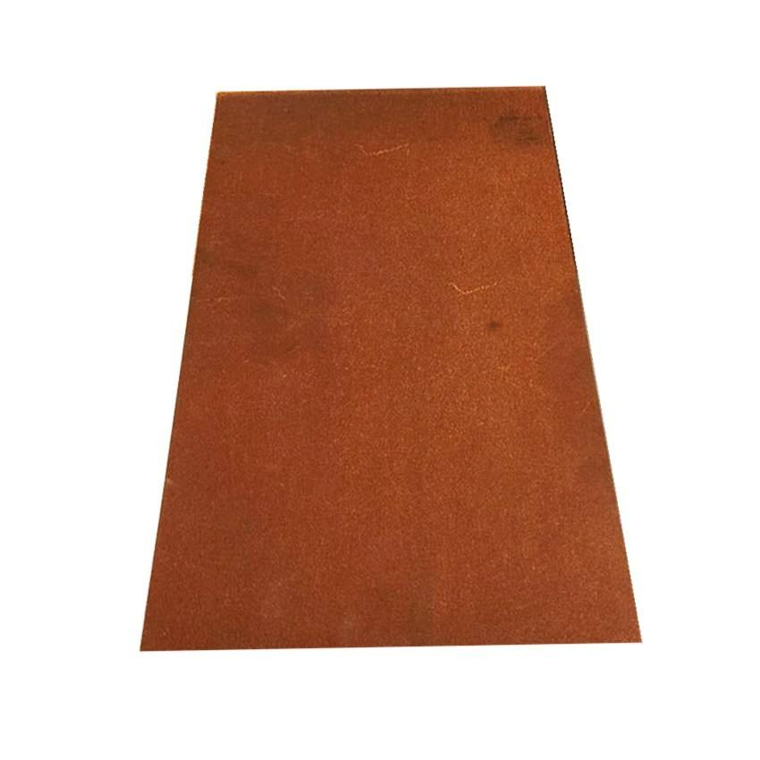 customized steel plate for garden steel wall a588 corten steel plate sheet