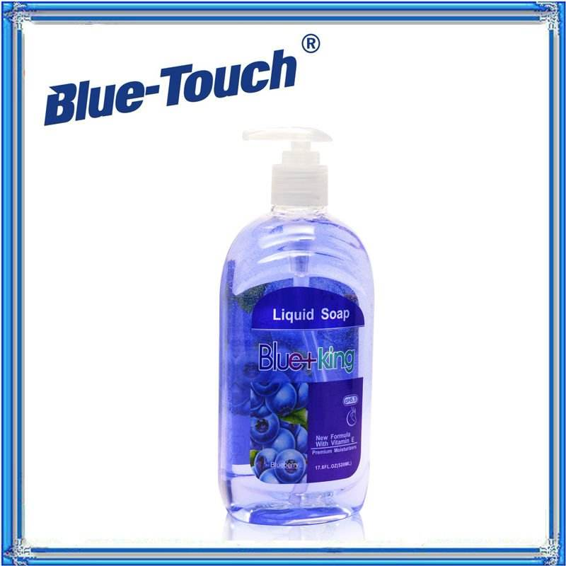 520ml Hot-sale Blueberry Blue-king hand liquid soap