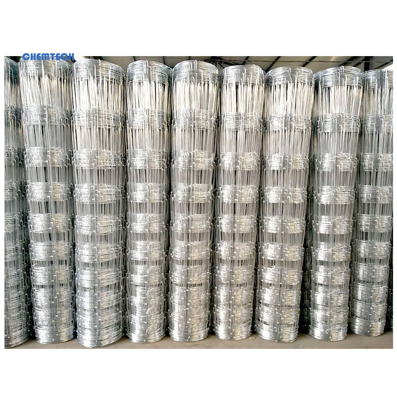 Factory Direct Sale Galvanized no galvanized Grassland Field Wire Mesh / livestock solution 6ft wire mesh fence