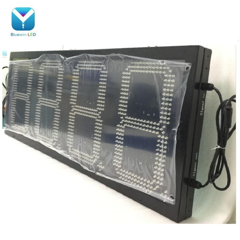 led digital price number board led display 10 inch gas station led sign 8'' 12'' 18''led gas price display