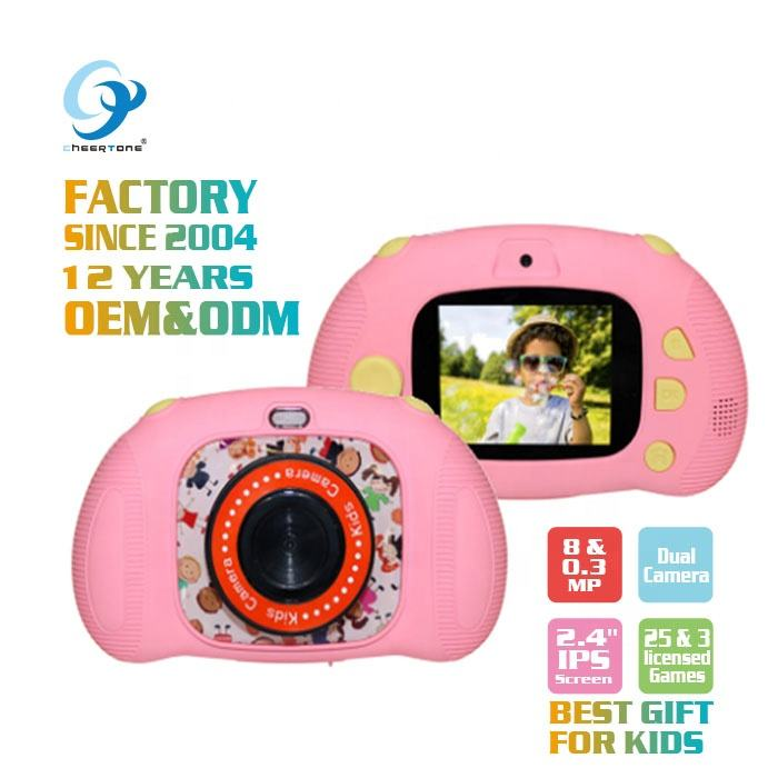 CTP2 New Product Ideas 2019 Cartoon Web Baby Children Toys Camera Toy