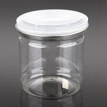 Kitchen Condiment Clear PET Plastic Bottle For Storing Chilli Sauce
