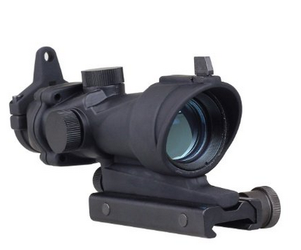 Trijicon 1X32 Acog Scope Air Gun Hunting Optische Verlichte Rood Groen Dot Sight Scope Tactical Rifle Scope Met 5 Niveau controle