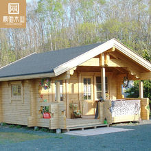 Japan Prefab House Resort Wooden House Log Cabin Simple Cottages