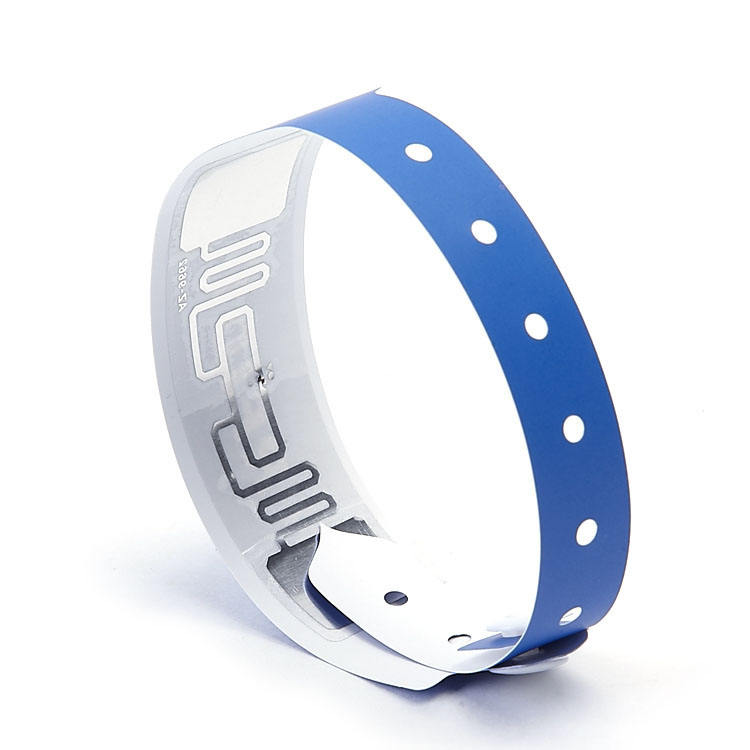 Programmable Tamper Proof 125khz Active RFID VinylWristband Rounded Technology Hotel Swimming Pool For Event