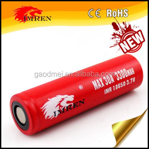 Más nuevo imren 3300 mAh 30A 3.7 V batería recargable linterna barato bicicleta eléctrica <span class=keywords><strong>Kit</strong></span>