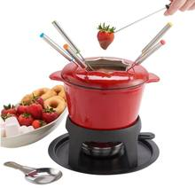 discount enamel chlour cast iron cheese fondue