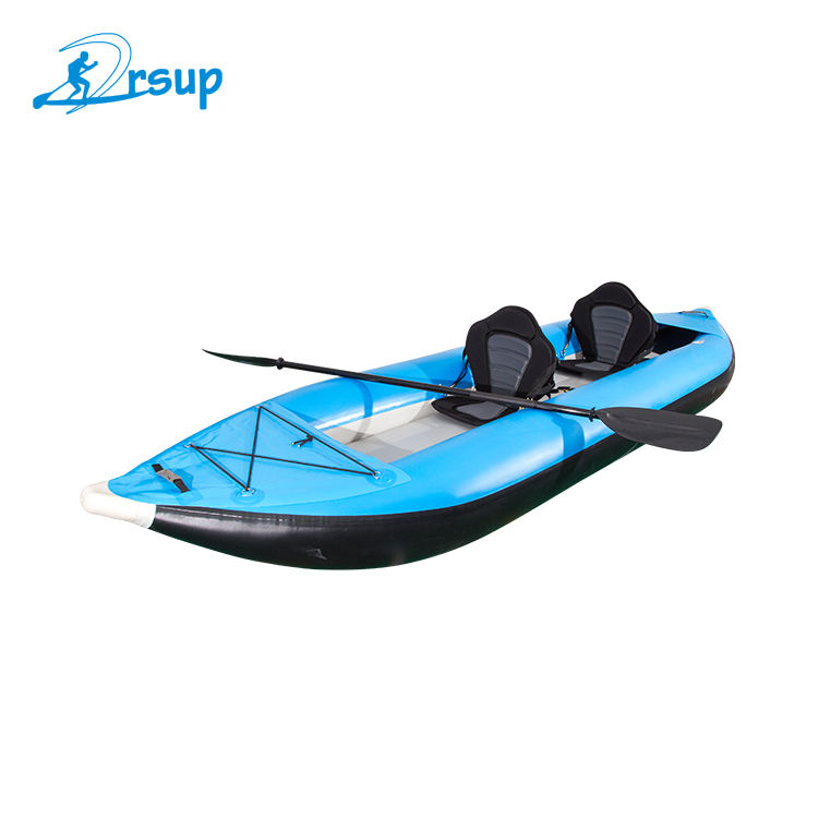 Custom design inflatable kayak 2 person kayak drop stitch inflatable kayak