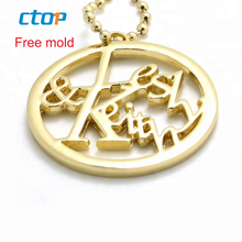 Fashion decorative factory design bag hardware accessories gold custom metal logo metal bags handbag metal bag logo