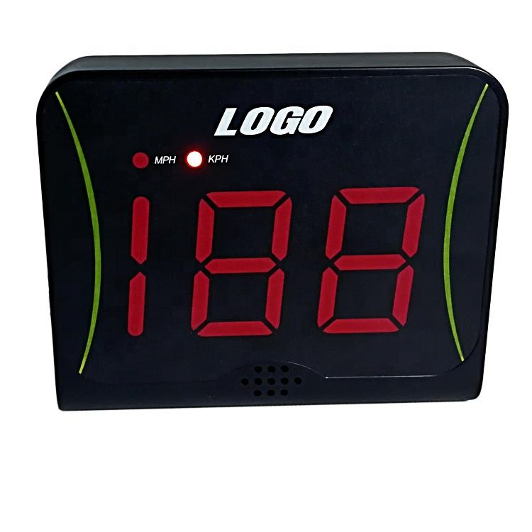 Soccer ball baseball tennis golf softball sports speed test radar and Training exercises test machine