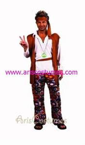 peace man Costume Canival Costume Adult Fancy Dress Costumes