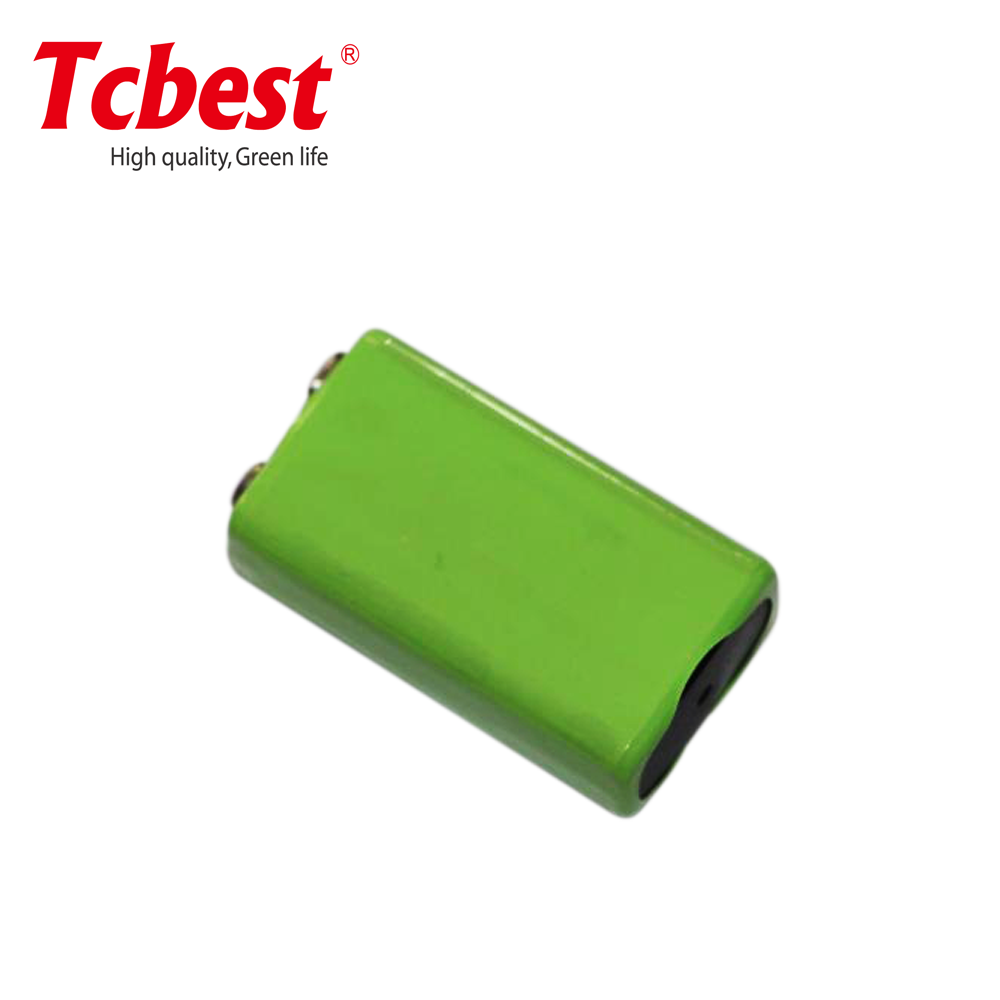 Better performance 9v NIMH rechargeable battery for flashlight/remote control