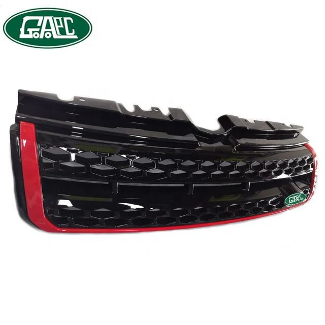 Car Autobiography All Black Red Grille GLEV16003 for Land Rover for Range Rover Evoque 2016 Spare Parts Wholesale Online