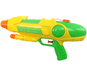 indoor super cool water toys kids plastic power double water gun toy