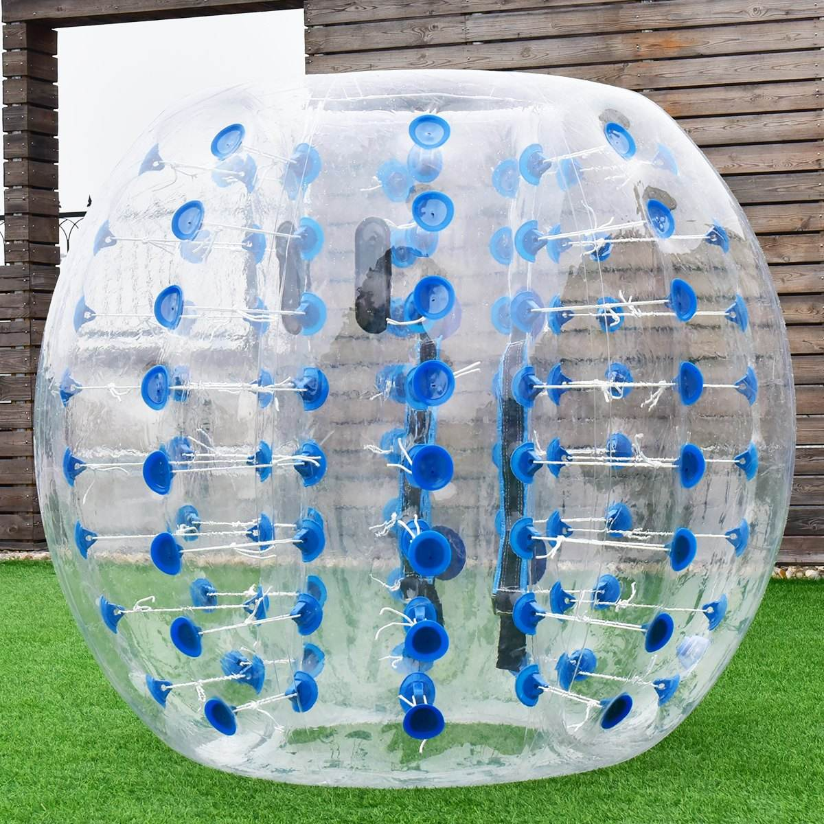 Inflatable Bumper Bubble Soccer Ball 3/ 4/5 ft(1/1.2/1.5)m Giant Human Hamster Ball for Adults and Children