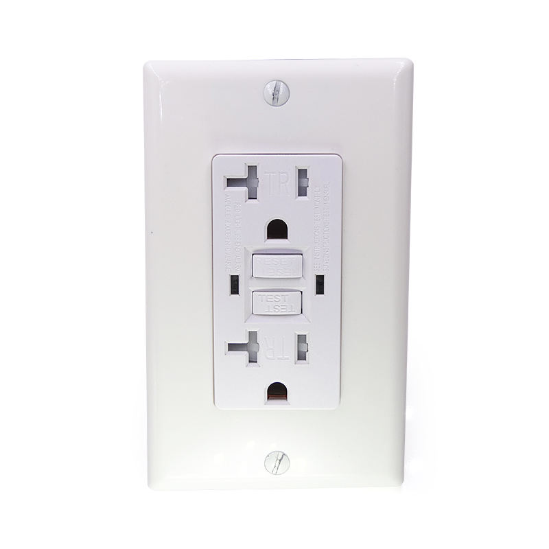 <span class=keywords><strong>GFCI</strong></span>-Selbst test buchse American Electric Safety Outlet( 2 LED-Anzeige lampen/Alarm am Lebens ende)