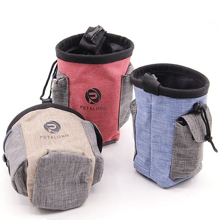 Nieuwe Producten 2019 Licht Gewicht Dog Training Treat Pouch Running Heuptas Hoge Kwaliteit Dog Treat Bag Dog Treat Pouch tas