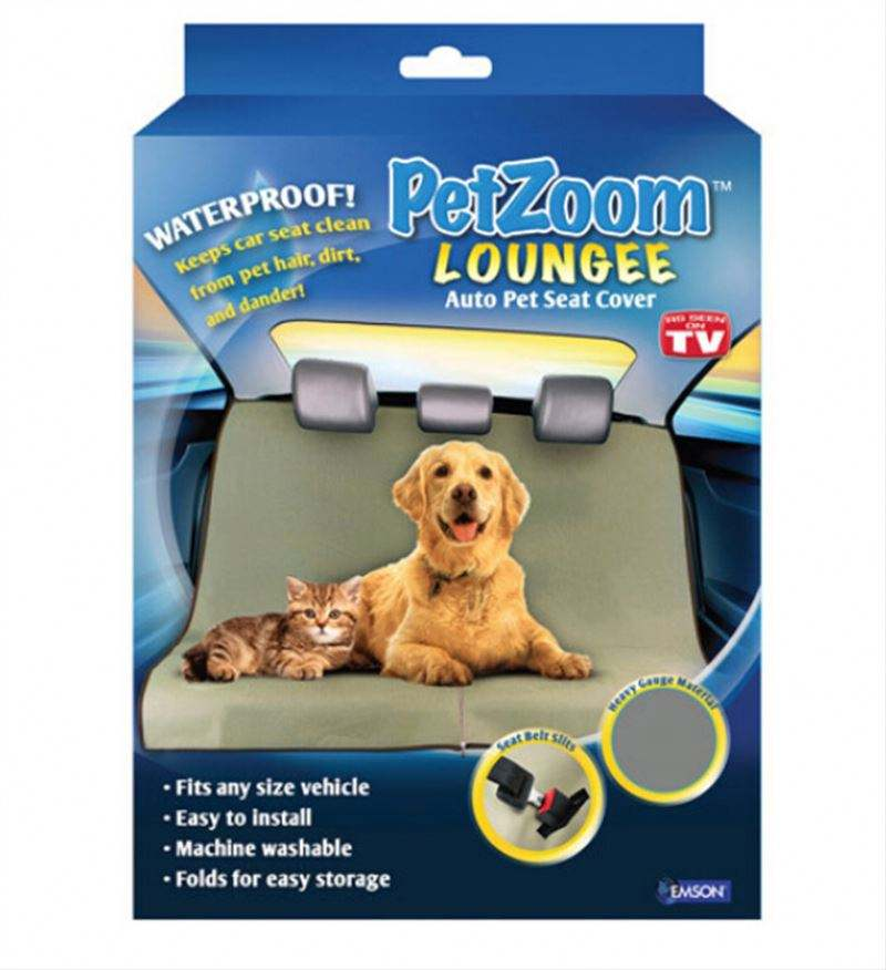 Petzoom Loungee Auto Pet Seat Cover 56x56""