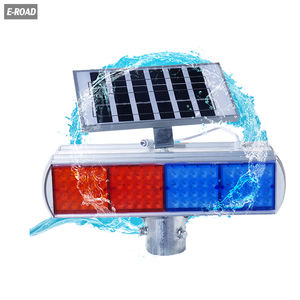 Hot Sale Street Solar Road Traffic Flash Warning Light