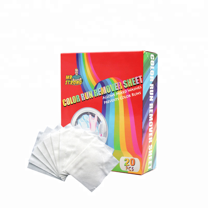 Wholesale Price with Good Quality Color Run Remover Sheet
