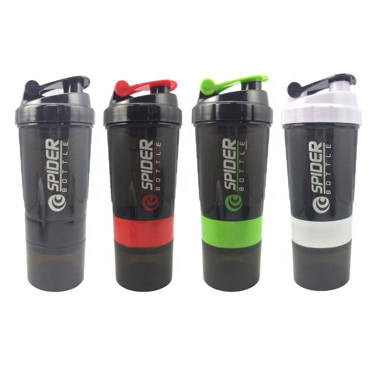 2020 Hot Selling Custom Plastic Protein Shaker Water bottle for Fitness Person
