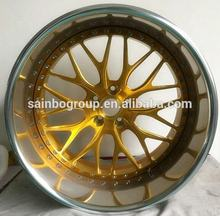 Custom wholesale new design Forged  car 5x120 wheel rims chinese cheap alloy aluminum wheels